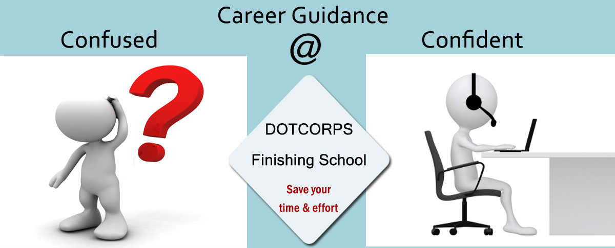 career guidance placement at dotcorps